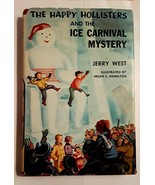 1 Vintage The Happy Hollisters and the Ice Carnival Mystery Children's B... - $8.99