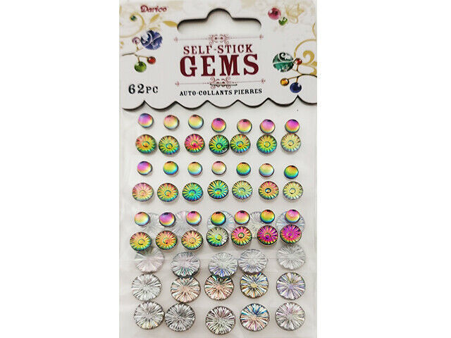 Darice Holographic Assorted Round Stickers #1212-94