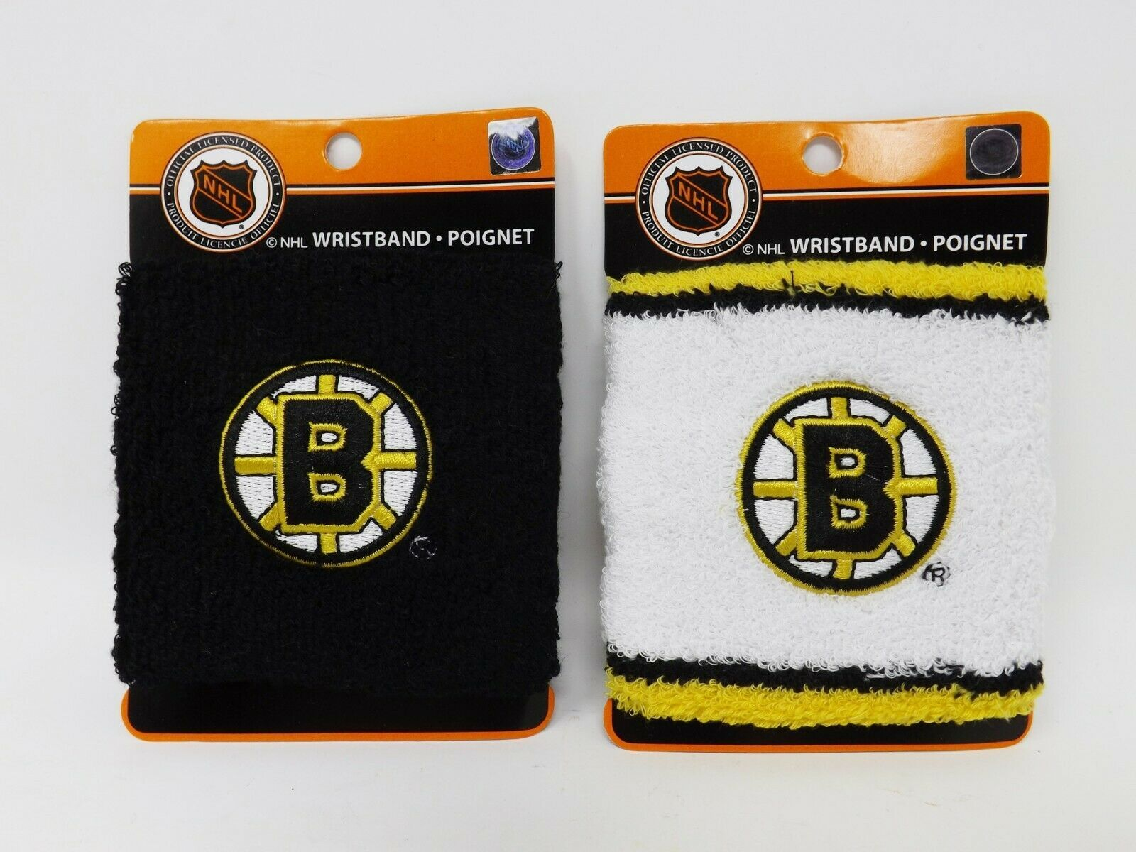 Primary image for Gertex Hosiery NHL Boston Bruins Wristband - New