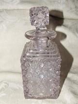 Antique 1882 EAPG Elson Flint Glass #88 Daisy & Button Cologne Bottle w/... - $45.00