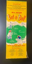 Vintage All Star Bat A Ball - Swing Training - Batting Trainer Aluminum Co. - $29.70