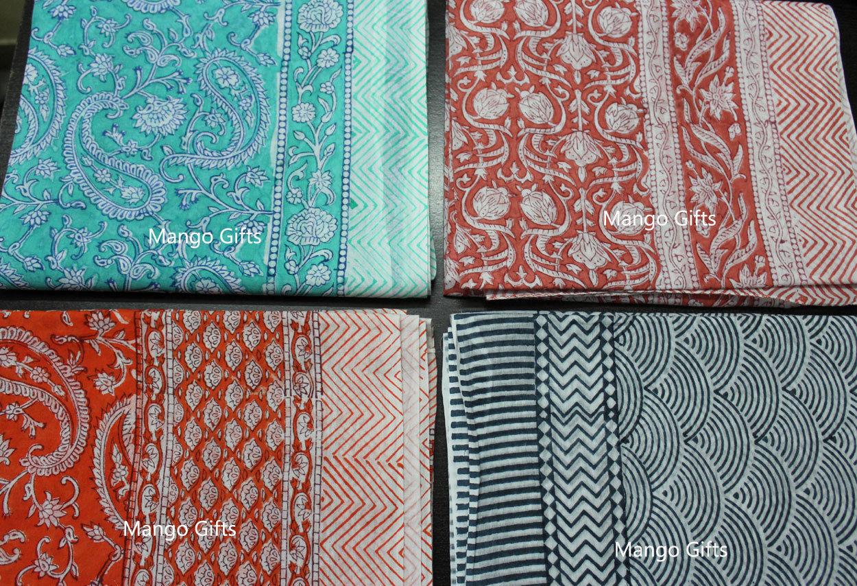 4f6d0fea3efb5 S l1600. S l1600. Previous. Block Print Cotton Beach Wrap Dupatta Long  Sarong Cover-Up Floral Scarves ...