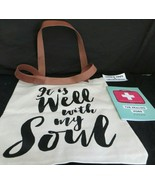 It is Well With My Soul Joyce Meyer Sparrow Society White Leather canvas... - $28.49