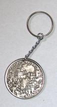 Vintage 1960's Key Chain Holder Israel Souvenir Jerusalem Haogen Original Pack image 3
