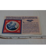 The Campaign of 1964 Goldwater Miller SUPER RARE Pin card a choice for a... - $32.07