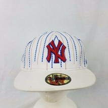 NY Yankees Baseball NEW ERA MLB Size 7 5/8 (60.6cm) Embroidered Hat 59Fifty - $31.67