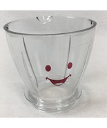 Magic Baby Bullet Large Clear Pitcher Batch Blending Bowl Replacement Pa... - $13.30