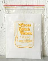 "Regency Mills 18 Count White Aida Cross Stitch Cotton Fabric - 12"" x 18"" - $5.65"