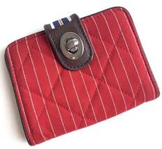 Vera Bradley Women's Red Stripe Fish Wallet - $12.86