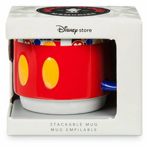 Disney Store Mickey Memories March Limited Stackable Coffee Mug New with Box - $27.71