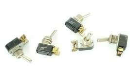LOT OF 5 CARLING TECHNOLOGIES 1X687 110-S-73XG TOGGLE SWITCHES image 1