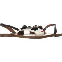 Steve Madden Ameline Nude Multi Sandals 188, White Multi, 8.5 US - $24.95