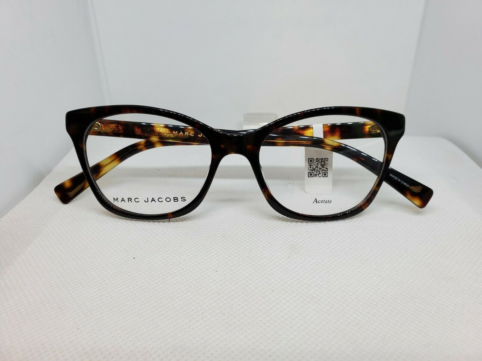 Primary image for New Marc Jacobs 379 Women's Eyeglasses Frame Dark Havana 086 Size 51