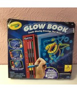 Crayola Glow Book Glowing Drawings That Move New - $14.85