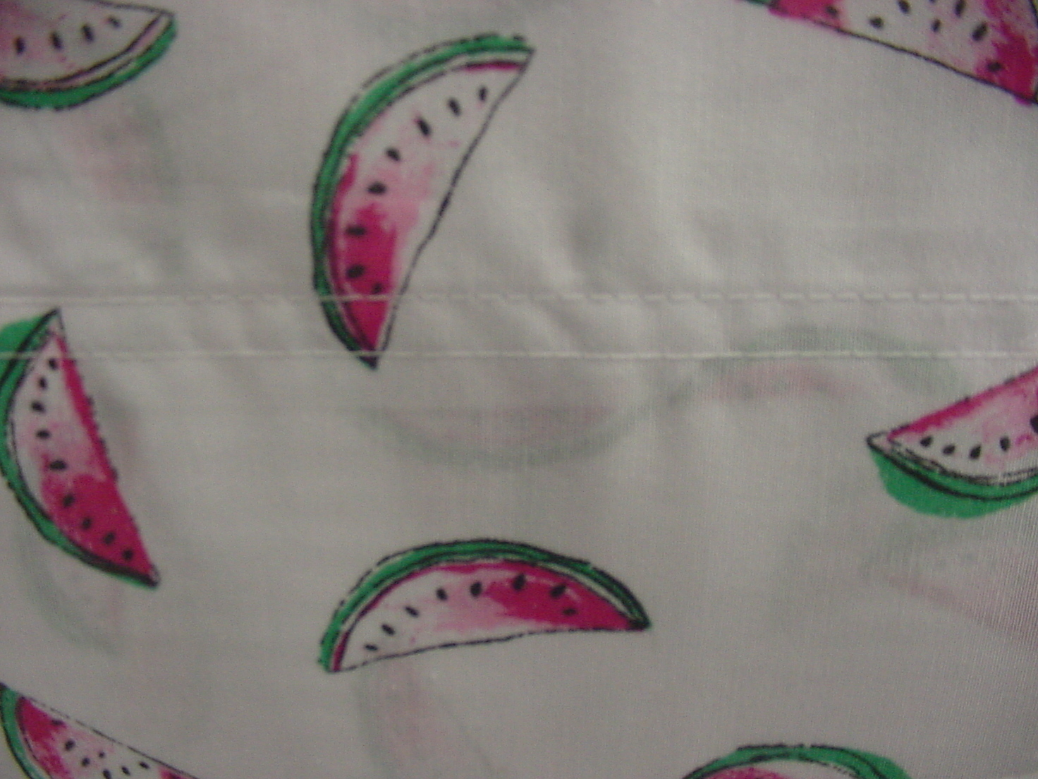 Tommy Hilfiger Watermelon on White Sheet Set Queen
