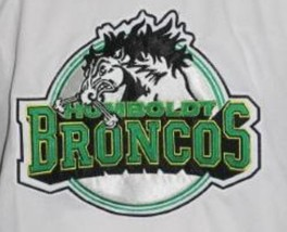 Any Name Number Humboldt Broncos Junior Hockey Jersey White Any Size image 4