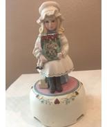 "Jan Hagara ""Shannonl"" limited edition 1984 Music  figurine - $50.00"