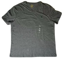 Ralph Lauren RRL Polo Short Sleeve V Neck Shirt Grey Size Large New Fast... - $34.25