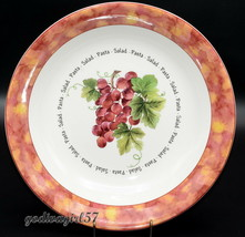 "Royal Doulton Vintage Grape * 13 3/8"" PASTA / SALAD SERVING BOWL * Rare,... - $24.74"