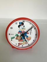 Extremely Rare! Walt Disney Scrooge McDuck Ducktales Table Alarm Clock f... - $198.00
