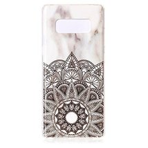 Galaxy Note 8 Case,Gloryshop [Marble pattern Series] Slim Soft Flexible ... - $4.94