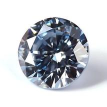 10.00 mm. SAPPHIRE AQUA LIGHT BLUE LOOSE 4.70 CT. DIAMOND-SPARKLING HARD... - $23.32