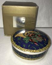 Mikasa Holiday Music Covered Jar China Christmas Horn w/ Box - $9.79