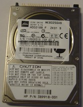 "TOSHIBA MK8025GAS 80GB 4200 RPM 2.5"" 9.5MM IDE 44PIN HDD NEW"