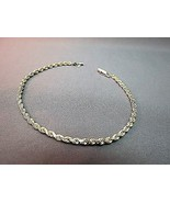 10k Yellow Gold Bracelet Rope Chain 5.62g Michael Anthony MA Gold 3mm Wi... - $227.69