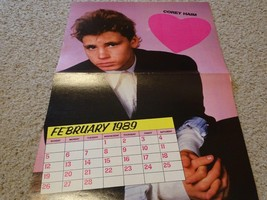 Corey Haim Fred Savage teen magazine poster clipping dressed up nice Teen Beat
