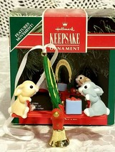 FRIENDS ARE FUN HALLMARK KEEPSAKE ORNAMENT 1991 in box  - $9.89