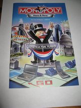 2006 Monopoly - Here & Now Board Game Piece: Instruction Booklet - $2.50