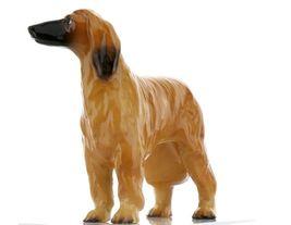 Hagen Renaker Pedigree Dog Afghan Hound Ceramic Figurine image 3