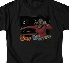 Star Trek Uhura T-shirt original cast member retro Sci-Fi graphic tee CBS208 image 2