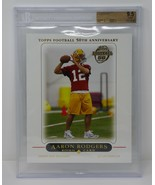 2005 Packers Topps XXL #2 Aaron Rodgers Rookie Beckett 9.5 GEM MINT - $4,749.99