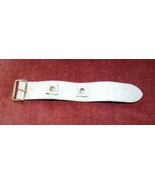 Vintage~60's 70's~176 Salvatori Harness Cowhide White Wrist Watch Band~b... - $9.99