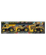 NEW Mighty Tuff Crew Hot Rodz Construction Vehicles, 3-pack FREE SHIPPING - $26.99