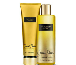 Victoria's Secret Coconut Passion Fragrance Lotion + Fragrant Body Wash ... - $39.95