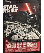 Disney Star Wars 25 Tattoos and 25 Stickers by Savvi (Great for Stocking... - $5.83