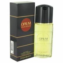Cologne OPIUM by Yves Saint Laurent Eau De Toilette Spray 3.3 oz for Men - $50.02