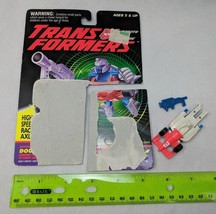 Transformers G2 Double Clutch Incomplete w Card 1995 Vintage Robot Actio... - $8.00