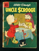 WALT DISNEY'S UNCLE SCROOGE #17 1957-CARL BARKS-DELL COMICS-fair FR - $24.83