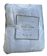 Pottery Barn Teen Organic Favorite Tee Duvet Cover Twin Twin XLWhite NEW - $65.41