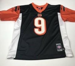 Boys Reebok NFL Players CARSON PALMER #9  Bengals  Black Jersey Large 14-16 - $8.88