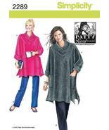 Simplicity Sewing Pattern 2289 Misses' Sportswear, A (XS-S-M-L-XL-XXL) - $13.23