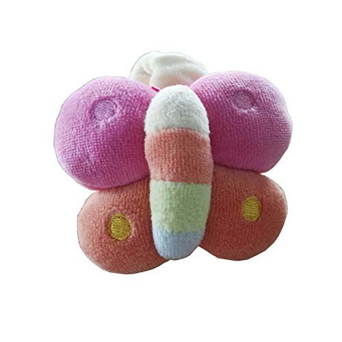 Baby Stuffed Animals Infant Toys Toddler Plush Toys Butterfly With Wrist Band