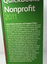 Quickbooks Premier Industry Edition Nonprofit 2011 Windows 7, Vista, XP image 5