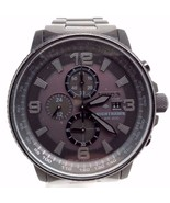 Citizen NightHawk EcoDrive Chronograph Black Ion-plated Mens Watch CA0295-58E - £52.04 GBP