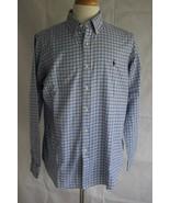 Ralph Lauren Men's Long Sleeve  Button Down Dress Shirt Size L - $19.79