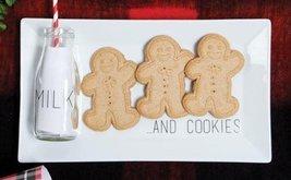 Milk and Cookies Holiday Santa Tray
